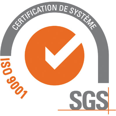 Registered Company - ISO 9001 SGS